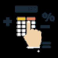 Imagem representando o domínio calcule.com.br