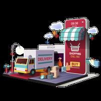 Imagem representando o domínio shops.com.br
