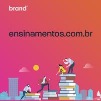Imagem representando o domínio ensinamentos.com.br