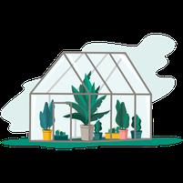 Imagem representando o domínio greenhouses.com.br