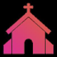 Imagem representando o domínio churches.com.br